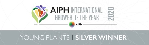 AIPH International Grower Of The Year Award Young Plants Silver Winner